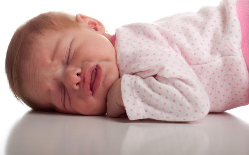 the babies cry asleep
